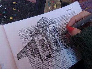 10702032 10205446792437646 5450302834553247970 n 300x225 - Cảm hứng Artline #5: Vẽ ký họa kiến trúc với bút kỹ thuật Artline