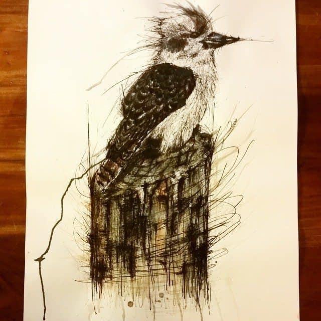 10755891 568489873283489 1567702871 n - Cảm hứng Artline #15: Bộ tranh vẽ chim chóc bằng bút lông dầu