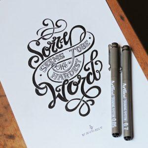 11085018 727382434045400 199751644 n 300x300 - Cảm hứng Artline #4: Những tác phẩm typography cực đẹp của chàng trai Sài Gòn
