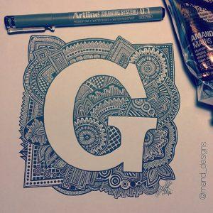 11371139 1483892551935313 197868728 n 300x300 - Cảm hứng Artline #3: Bộ tranh chữ cái Doodle thú vị của nữ tác giả người Úc