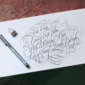11375836 1660797744157720 692551547 n 300x300 - Cảm hứng Artline #4: Những tác phẩm typography cực đẹp của chàng trai Sài Gòn