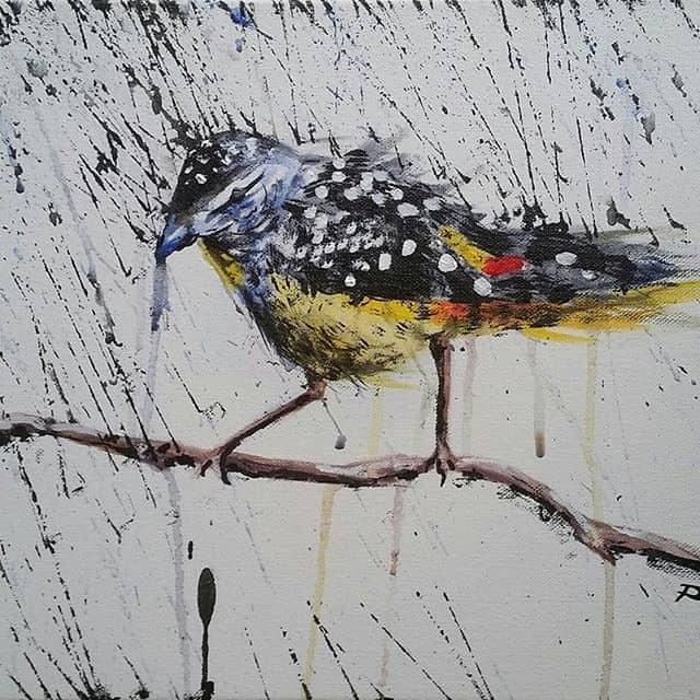 1172491 1061277087228201 2067152678 n - Cảm hứng Artline #15: Bộ tranh vẽ chim chóc bằng bút lông dầu