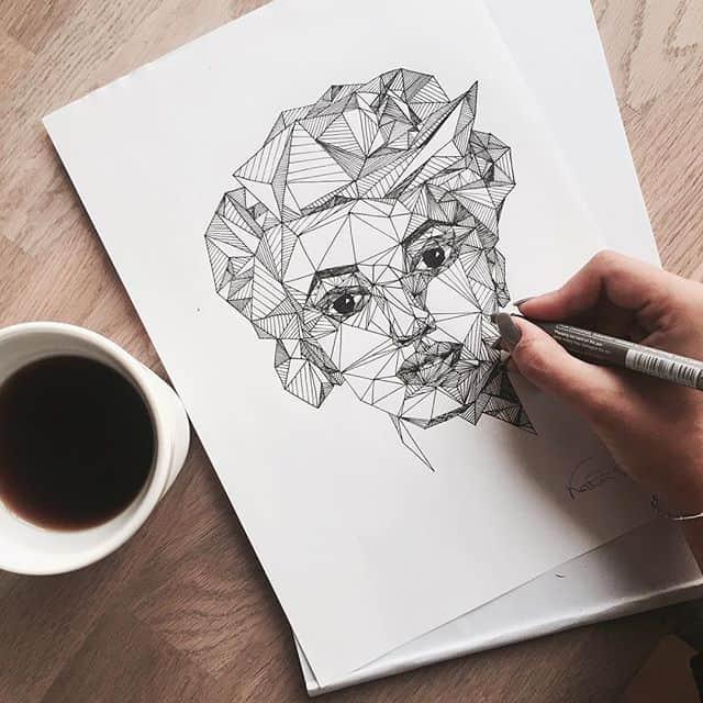 11820488 972200076155946 171545455 n - Cảm hứng Artline #24: Bộ tranh cách điệu chân dung người nổi tiếng độc đáo