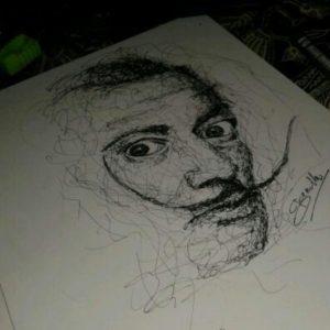 11821948 728741560563054 392316254 n 300x300 - Cảm hứng Artline #12: Bộ tranh chân dung với cách vẽ độc đáo