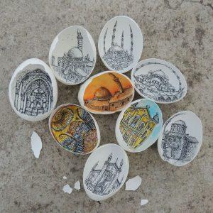 11822480 10207663779900947 244458708299193454 n 1 300x300 - Sự tài tình từng nét vẽ Artline trong vỏ quả trứng của nữ họa sĩ Thổ Nhĩ Kỳ