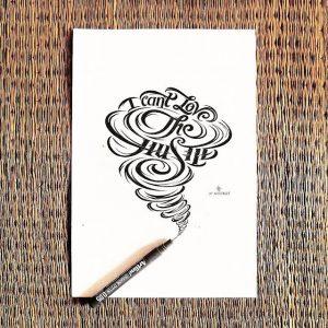 11881878 1617790351815360 572528970 n 300x300 - Cảm hứng Artline #4: Những tác phẩm typography cực đẹp của chàng trai Sài Gòn