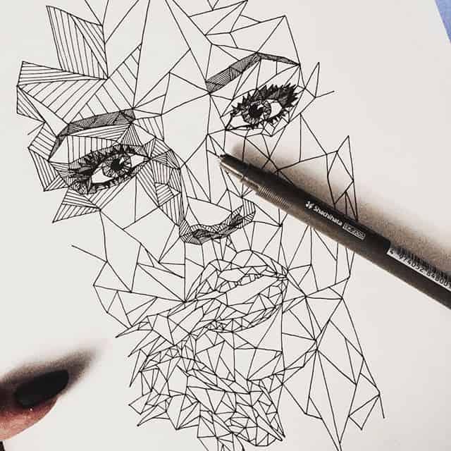 12081049 911440065558736 2050341487 n - Cảm hứng Artline #24: Bộ tranh cách điệu chân dung người nổi tiếng độc đáo