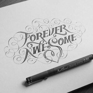 12081238 1389883881313120 797021378 n 300x300 - Cảm hứng Artline #4: Những tác phẩm typography cực đẹp của chàng trai Sài Gòn