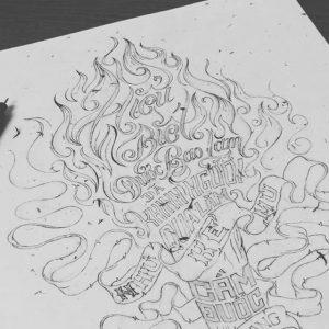 12120279 1008624165855652 865839011 n 300x300 - Cảm hứng Artline #4: Những tác phẩm typography cực đẹp của chàng trai Sài Gòn
