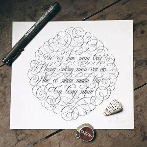 12142543 1674626316109583 1692164711 n 300x300 - Cảm hứng Artline #4: Những tác phẩm typography cực đẹp của chàng trai Sài Gòn
