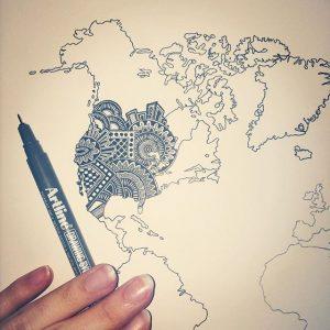 12725070 1114715131893057 359123387 n 300x300 - Cảm hứng Artline #3: Bộ tranh chữ cái Doodle thú vị của nữ tác giả người Úc