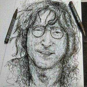 12907365 747690268699577 1566371514 n 300x300 - Cảm hứng Artline #12: Bộ tranh chân dung với cách vẽ độc đáo