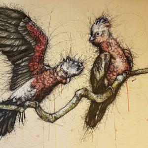 12930917 958553930929384 1915168136 n 300x300 - Cảm hứng Artline #8: Bộ tranh động vật độc đáo của nữ họa sĩ Australia