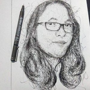 12940809 1706766726269020 1080029869 n 300x300 - Cảm hứng Artline #12: Bộ tranh chân dung với cách vẽ độc đáo