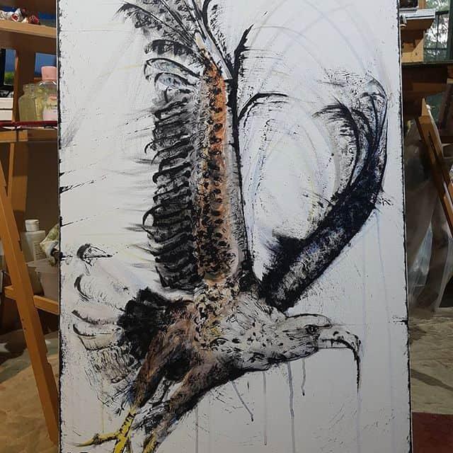 13098985 1708438496097800 1203589656 n - Cảm hứng Artline #15: Bộ tranh vẽ chim chóc bằng bút lông dầu