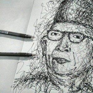 13102510 538364403012856 391178874 n 300x300 - Cảm hứng Artline #12: Bộ tranh chân dung với cách vẽ độc đáo