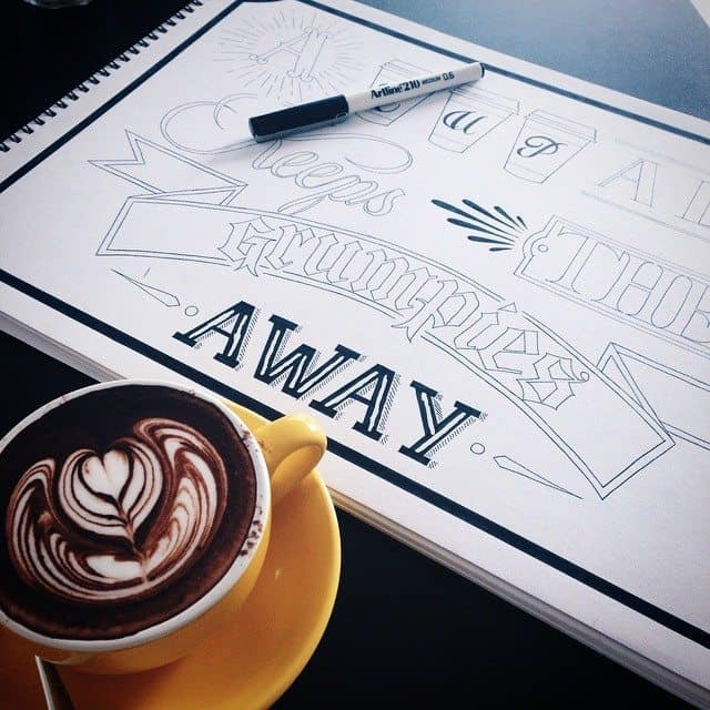 13167237 285708818428967 1953674129 n - Cảm hứng Artline #25: Phong cách typography cá tính của nhà thiết kế trẻ