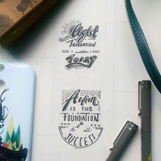13573355 1622513508064731 299685212 n - Luyện viết Typography: Sắp xếp chữ cái theo bố cục hình chữ nhật