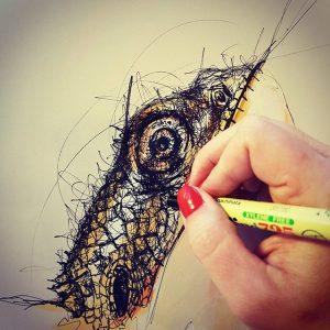 14031553 242056332855719 1059261546 n 300x300 - Cảm hứng Artline #8: Bộ tranh động vật độc đáo của nữ họa sĩ Australia