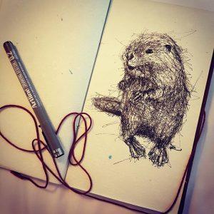14294902 1121475241265922 5469095699847053312 n 300x300 - Cảm hứng Artline #13: Bộ tranh động vật đầy ấn tượng bằng bút kỹ thuật Artline