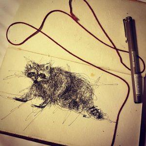 14359977 1656420281338517 1388648354 n 300x300 - Cảm hứng Artline #13: Bộ tranh động vật đầy ấn tượng bằng bút kỹ thuật Artline