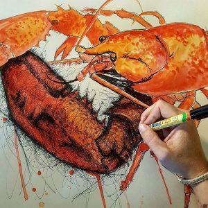 14374447 918565054954682 1689535289799737344 n 300x300 - Cảm hứng Artline #8: Bộ tranh động vật độc đáo của nữ họa sĩ Australia