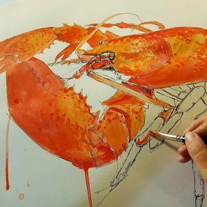 14504871 174432519628142 3874497264806264832 n 300x300 - Cảm hứng Artline #8: Bộ tranh động vật độc đáo của nữ họa sĩ Australia