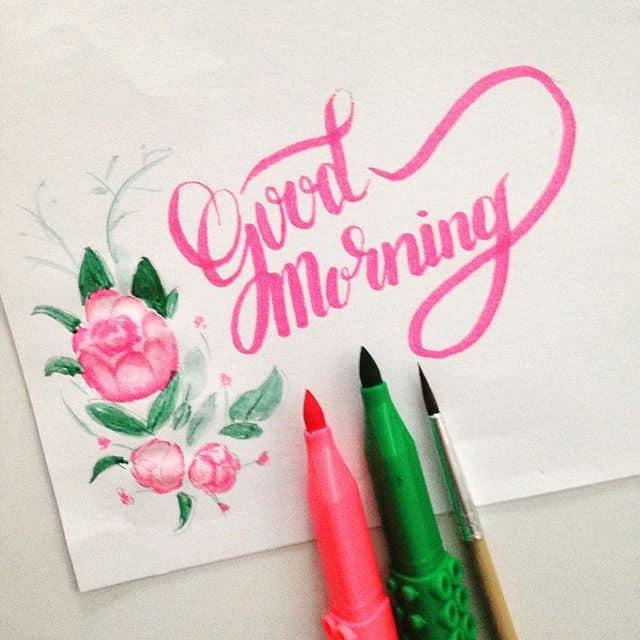 15035621 1273831889333535 9085202908877684736 n - Luyện viết thư pháp đẹp với bút Artline brush