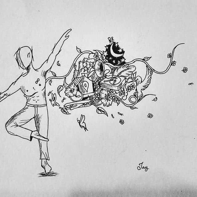 16110555 811752402297356 4702679577812533248 n - Cảm hứng Artline #15: Bộ tranh trừu tượng của tác giả trẻ