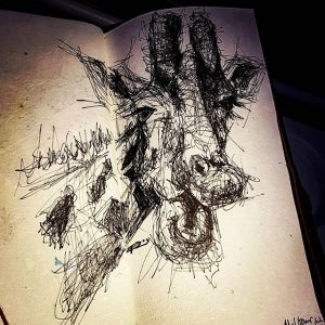 16464113 1034386196704910 5206951387388182528 n 300x300 - Cảm hứng Artline #13: Bộ tranh động vật đầy ấn tượng bằng bút kỹ thuật Artline