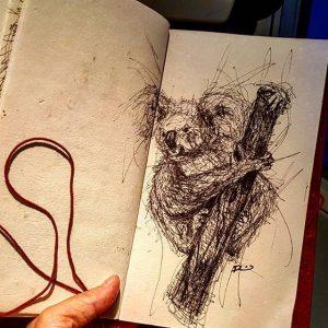 16584810 250668388677605 3513497661485350912 n 300x300 - Cảm hứng Artline #13: Bộ tranh động vật đầy ấn tượng bằng bút kỹ thuật Artline