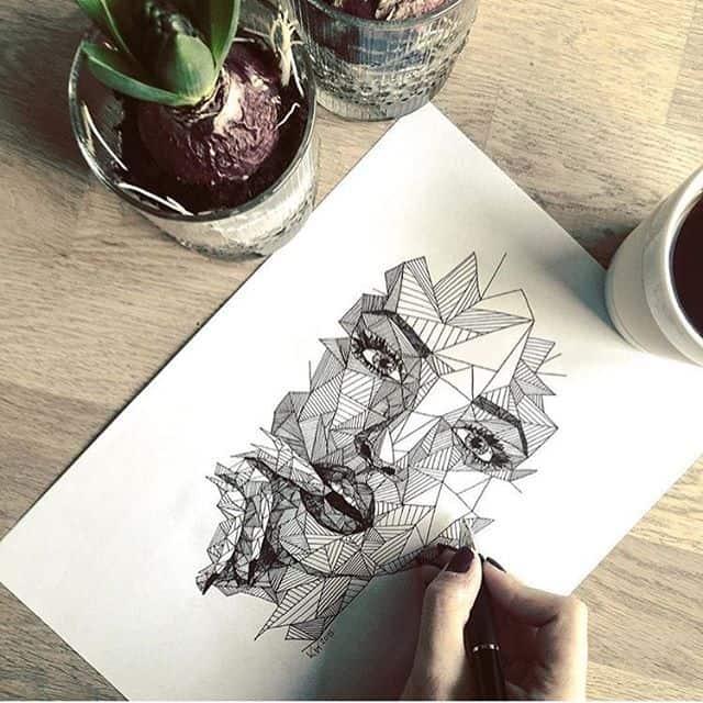 17932597 147713669094448 8866018560120455168 n - Cảm hứng Artline #24: Bộ tranh cách điệu chân dung người nổi tiếng độc đáo