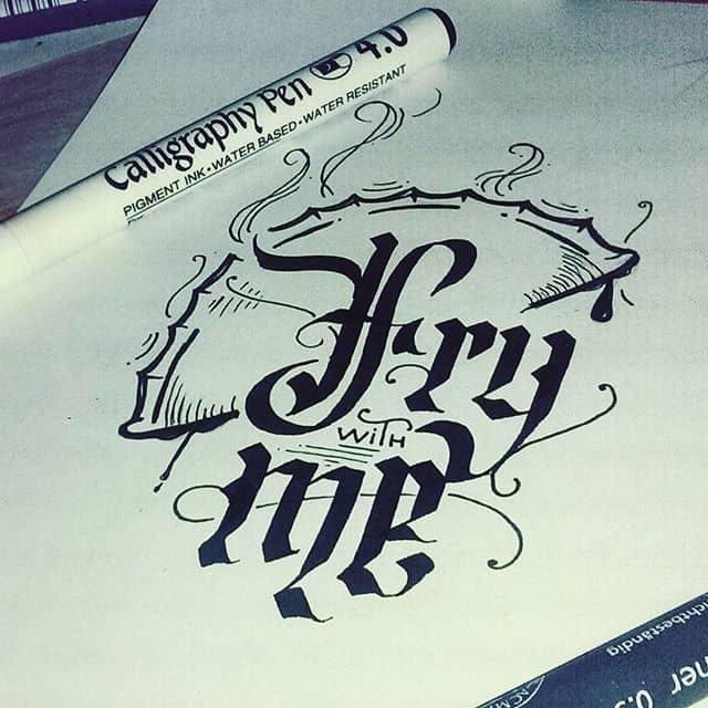 18579619 421626851550171 3109619385308807168 n - Cảm hứng Artline #17: Viết thư pháp cùng bút Calligraphy Artline