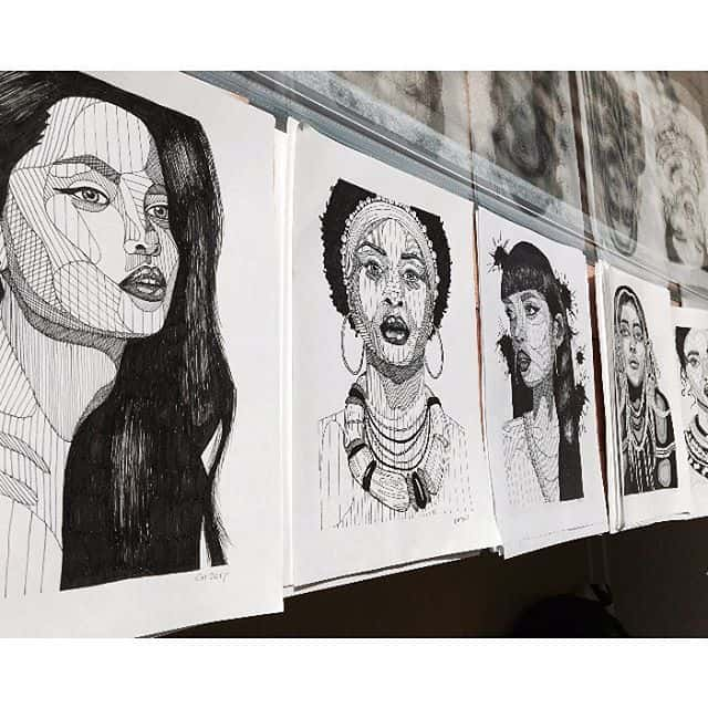 18580957 1944974399116028 4758218731925012480 n - Cảm hứng Artline #24: Bộ tranh cách điệu chân dung người nổi tiếng độc đáo