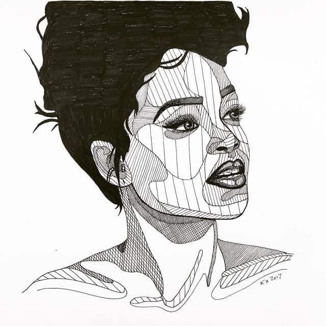 18723688 531008197289280 7294232882527076352 n - Cảm hứng Artline #24: Bộ tranh cách điệu chân dung người nổi tiếng độc đáo