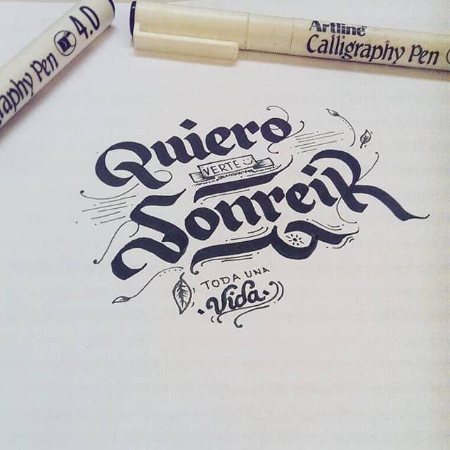 19984909 1989899384368828 7213186213996396544 n - Cảm hứng Artline #17: Viết thư pháp cùng bút Calligraphy Artline