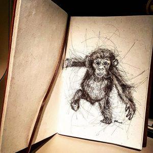 20184623 128905687831642 2516701525212921856 n 300x300 - Cảm hứng Artline #13: Bộ tranh động vật đầy ấn tượng bằng bút kỹ thuật Artline