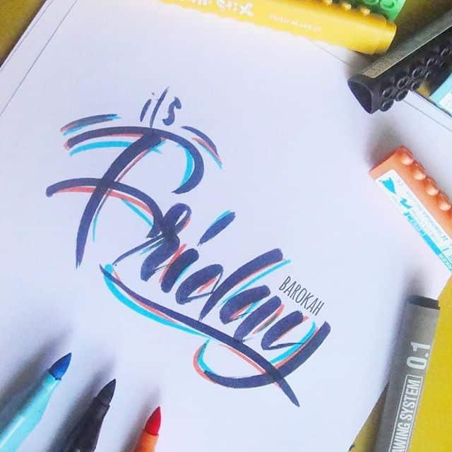 20686599 1060627814067660 2927190619346436096 n - Luyện viết thư pháp đẹp với bút Artline brush
