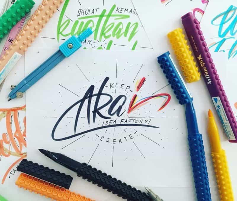 20759511 311683542636872 6150155269633474560 n - Luyện viết thư pháp đẹp với bút Artline brush