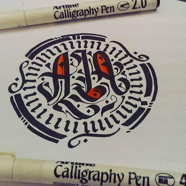 21147548 1116099898534119 304948695265181696 n - Cảm hứng Artline #17: Viết thư pháp cùng bút Calligraphy Artline