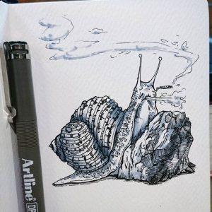 21372498 487251938305512 8436344375356686336 n 300x300 - Cảm hứng Artline #9: Những minh họa nhỏ nhắn xinh xắn bằng bút kỹ thuật Artline