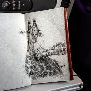 21577049 358533731235775 7351673332762148864 n 300x300 - Cảm hứng Artline #13: Bộ tranh động vật đầy ấn tượng bằng bút kỹ thuật Artline