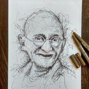 21690541 940881359393037 7435360156344385536 n 300x300 - Cảm hứng Artline #12: Bộ tranh chân dung với cách vẽ độc đáo