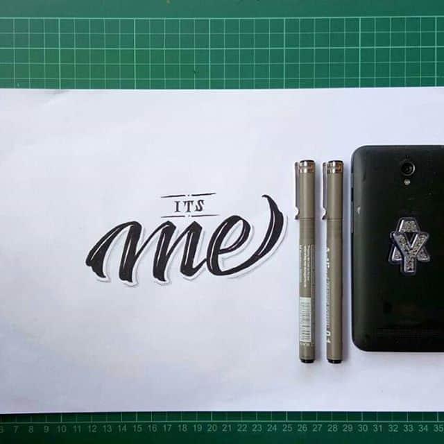 22159142 1946833838893009 8392849804190810112 n - Cảm hứng Artline #19: Viết thư pháp bằng bút kỹ thuật