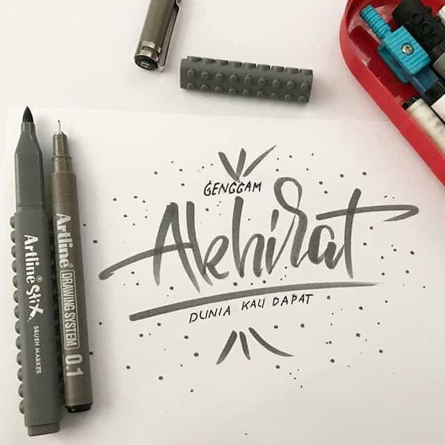 22637665 182887342276909 917484462730641408 n - Luyện viết thư pháp đẹp với bút Artline brush