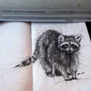 22858248 124476508243644 8825429701834047488 n 300x300 - Cảm hứng Artline #13: Bộ tranh động vật đầy ấn tượng bằng bút kỹ thuật Artline