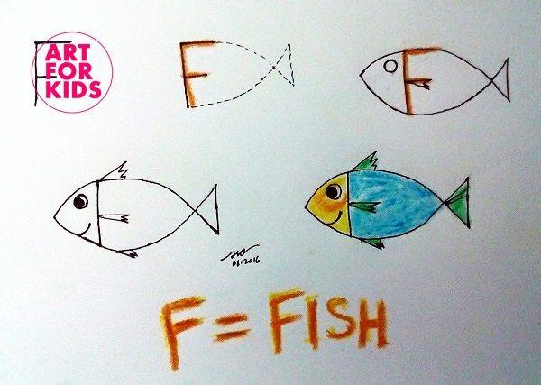 6 - Cách vẽ tranh từ chữ cái cực dễ