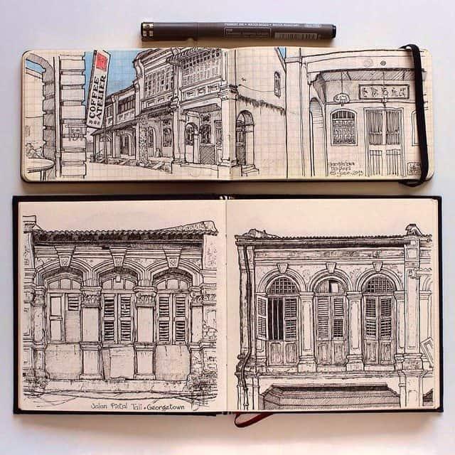 917147 330836597125735 1731738640 n - Cảm hứng Artline #18: Những bức ký họa đẹp bằng bút kỹ thuật