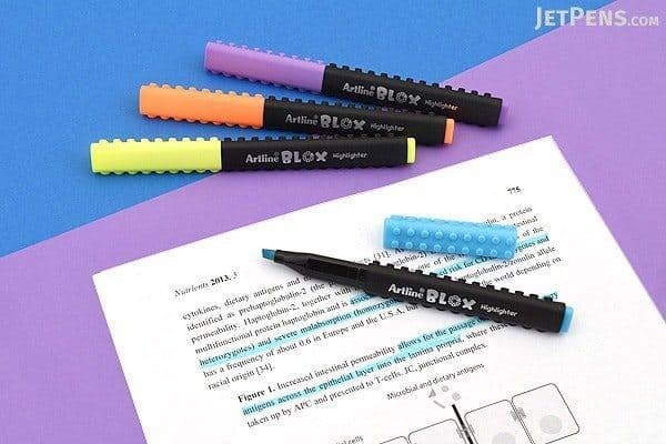 Bút dạ quang lắp ráp - Cây bút dạ quang đang làm mưa làm gió tại trường học của Nhật Bản