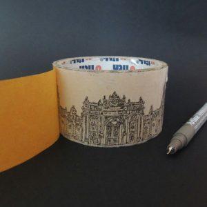 Cung điện Dolmabahce Istanbul Thổ Nhĩ Kỳ 300x300 - Cảm hứng Artline #5: Vẽ ký họa kiến trúc với bút kỹ thuật Artline
